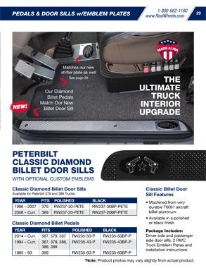 Realwheels Truck Accessories Catalog