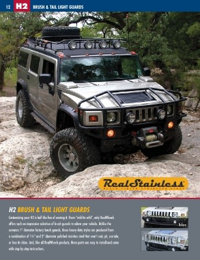 Hummer Models List >> Realwheels Hummer Accessories Catalog