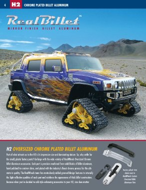 RealWheels Hummer Accessories Catalog