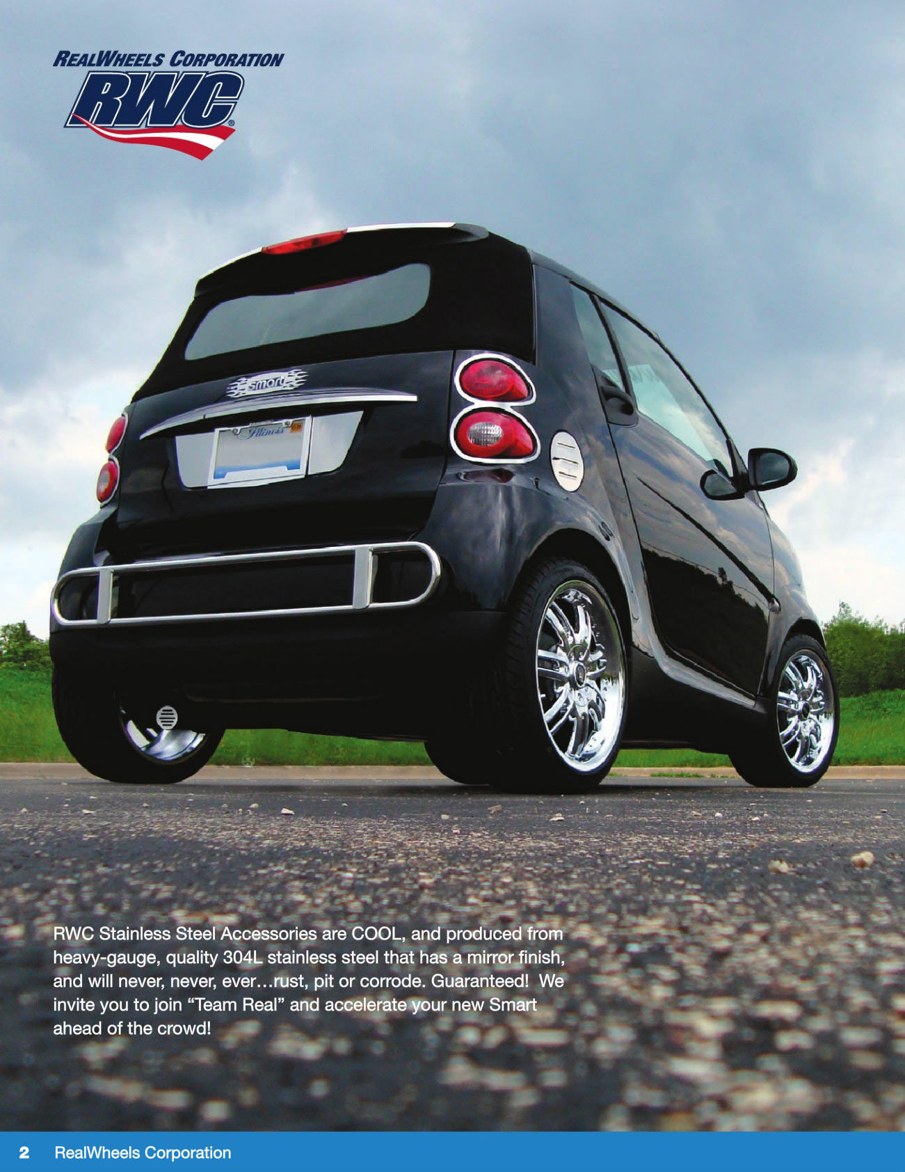 Realwheels Smart Car Accessories Catalog
