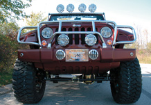 Adventure Jeep Front View