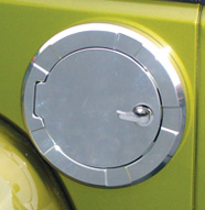 Non-Locking Fuel Door