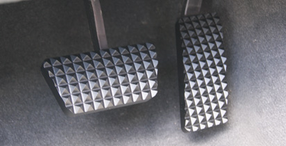 Black Billet Pedals