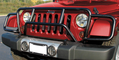Enforcer Grille Guard Jeep Wrangler Jk Accessories