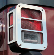 Stainless Tail Light Armor