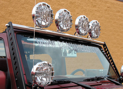 Stainless Steel Light Bar with Light Tabs