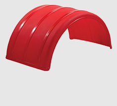 "19"" & 25"" Poly Single Arch Fenders"