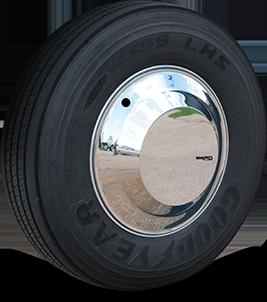 Aero Mirror Stainless Front
