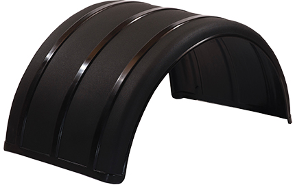 "25"" Black Poly Single Arch Fenders"