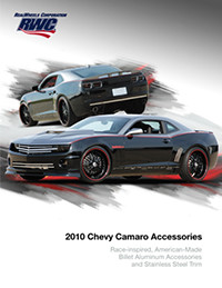 2010 Chevy Camaro Catalog