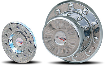 Cover-Up Hub Cover For 2005+ Ford F450/F550 & International TerraStar