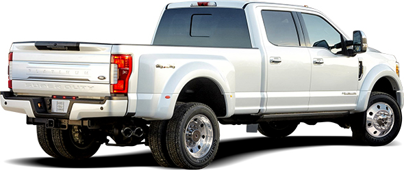 Ford F450 with Stainless Steel Trim Kit