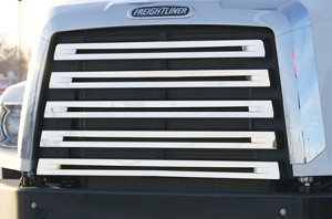 Grille Cover for Freightliner 108SD and 114SD truck