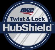 Twist & Lock HubShield Logo
