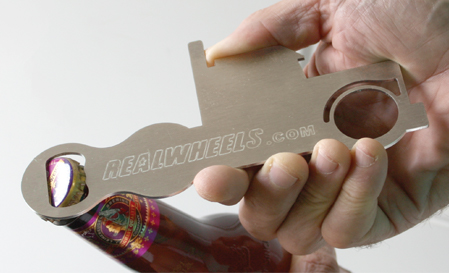 Opening Bottle with Bottle Opener