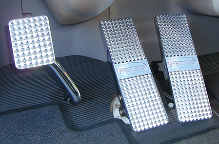 Peterbilt Diamond Billet Pedals