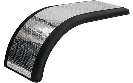 Prestige half tandem fender with aluminum diamond panel