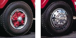 Cast Spoke Wheels Before & After