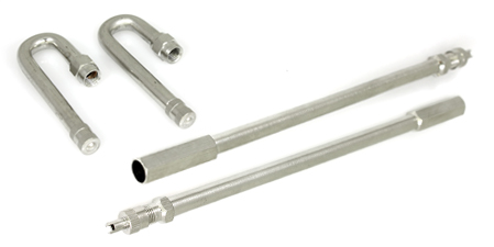 """180° and 6"""" Valve Extensions"""