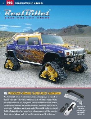 Realwheels Hummer Accessories Catalog