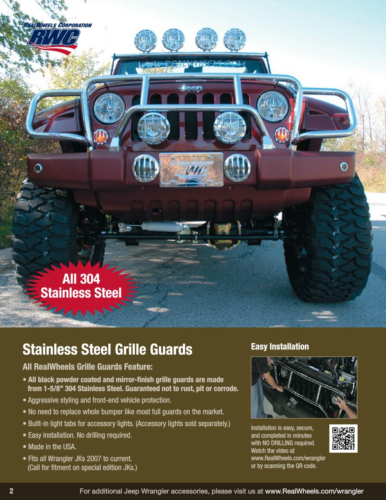 RealWheels RW221-2BP-J Billet Black Powder Coated Large Adjustable Seat Handle for Jeep Wrangler