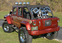 Adventure Jeep Rear View