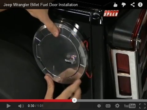 Install Video: Billet Fuel Doors