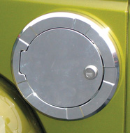 Locking Fuel Door
