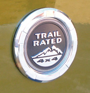 Trail Rated Logo Surround