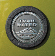 Black Trail Rated Logo Surround