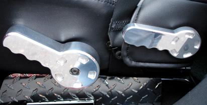 Adjustable Seat Handles