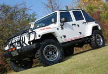 Weekender Jeep Front 3/4 View