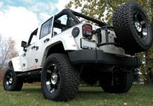 Weekender Jeep Rear 3/4 View