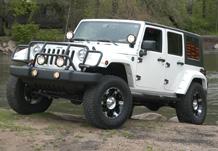 Weekender Jeep Side 3/4 View