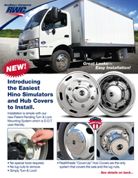 Hino Wheel Cover Flyer