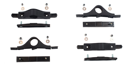 "Standard Fender Mounting Kit for 1-5/8"" Bar"