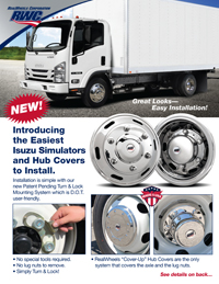 Isuzu Wheel Cover Flyer