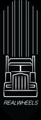 RWC Truck Logo Plate for RWC Kenworth Pedals