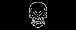 Skull Logo Plate for RWC Peterbilt Pedals