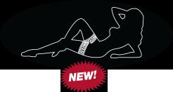 Female Silhouette Logo Plate for RWC Peterbilt Pedals