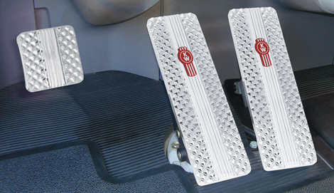 Kenworth T700, T800, W900, T440 & T470 Billet Pedals (1994-2006) available at Kenworth Dealers