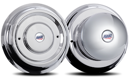 Stainless Steel Smooth Face Cover-Up Hub Covers