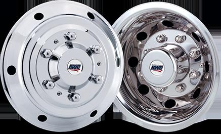 Sprinter 3500 Stainless Steel Wheel Simulators with Dual Wheels