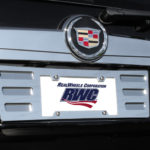 ABS GM License Plate Surrounds