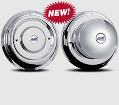 22.5″–24.5″ Stainless Steel Cover-Up Hub Covers