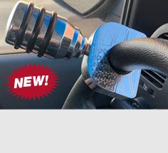 Billet Aluminum Steering Wheel Spinner Clamp