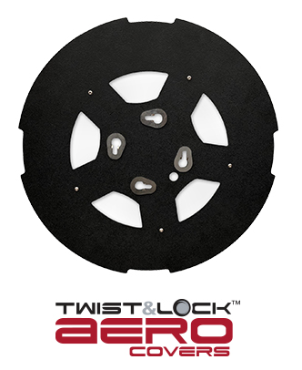 Twist & Lock Aero Black with Window