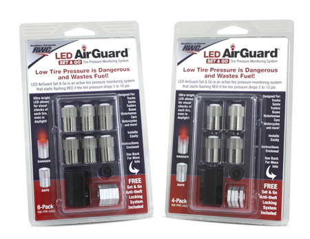 LED AirGuard 4 & 6-Pack