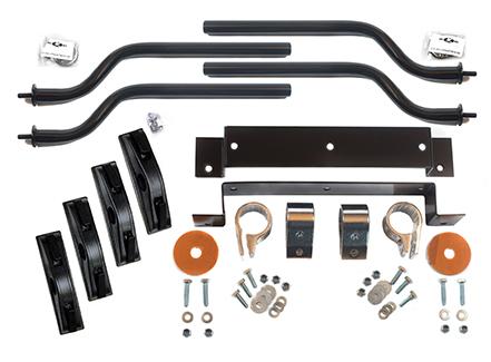 Black Under-fender Mounting Kit (FK-01BU)