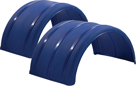 "19"" & 25"" Blue Poly Single Arch Fenders"